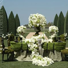 just a simple little garden wedding !