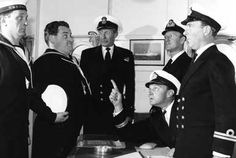 "The Navy Lark was a spoof on the Senior Service and was one of the longest running comedy shows ever. The first series was set on an island off Portsmouth and later the antics took place aboard HMS Troutbridge. The crew consisted of the Number One, played by Dennis Price and later Stephen Murray, the Sub-Lieutenant (Leslie Phillips) a silly-ass whose cry of ""Left hand down a bit"" meant impending doom for whichever port they were docking in, or whatever vessel was nearby,"
