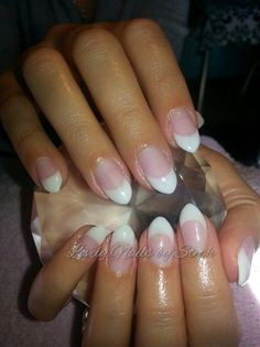 french almond by stephany_saf from Nail Art Gallery