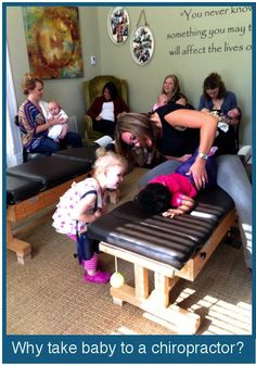Why take baby to a chiropractor?? It's never to young to teach #selfcare. Plus chiropractic care helps with so many popular illnesses for babies. Read more at http://365daysofselfcare.com/why-i-take-my-baby-to-a-chiropractor/