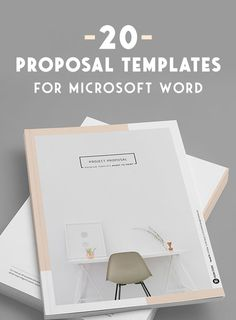 On the Creative Market Blog - 20 Creative Business Proposal Templates You Won't Believe Are Microsoft Word
