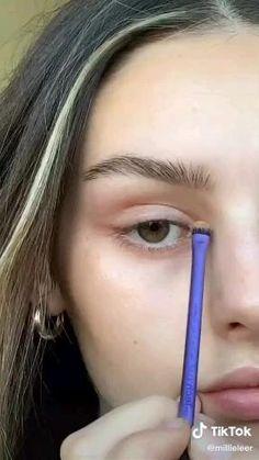 Eyebrow Makeup Tips, Edgy Makeup, Makeup Eye Looks, Cute Makeup, Pretty Makeup, Simple Makeup, Skin Makeup, Beauty Makeup, Natural Everyday Makeup