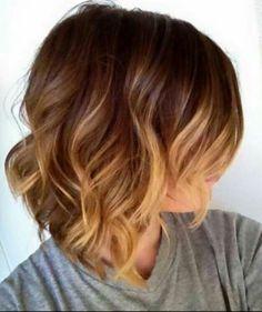 short hair nice color