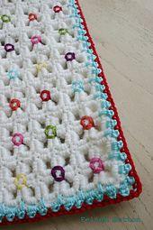 Ravelry: Crazy-Good Mat & Blanket pattern by Susan Carlson