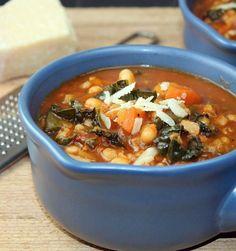 Recipe For Italian Minestrone.