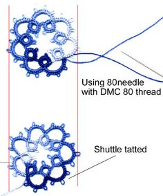 Needle Tatting Instructions | GeniusBot Search Engine - Image - free needle tatting patterns
