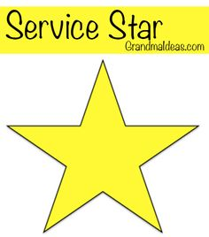 Use this free printable service star to teach your kids to serve others during the Christmas holidays.