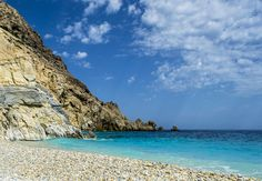 Rocks & Blue - Seychelles beach, Ikaria #Greece, #beach, #Ikaria, #Blue, #sea, #landscape