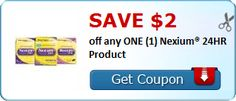 New Coupon!  SAVE $2.00 off any ONE (1) Nexium® 24HR Product! - http://www.stacyssavings.com/new-coupon-save-2-00-off-any-one-1-nexium-24hr-product/