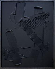 Anselm Reyle, Black Earth, 2007