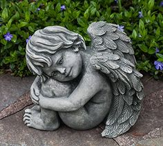 Campania International C108AS Evangeline Statuary Alpine Stone Finish * Find out more by clicking the VISIT button