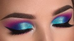 Colorful Summer Smokey Eye Makeup Tutorial | Jaclyn Hill x Morphe Palette https://www.youtube.com/channel/UC76YOQIJa6Gej0_FuhRQxJg