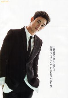 Japanese magazine. Release date: 2013.07.22