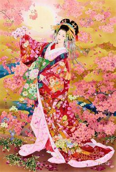 Japanese painter Haruyo Morita.