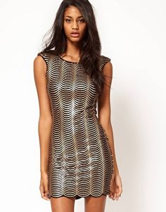Lipsy-Scalloped-Sequin-Body-Conscious-Dress