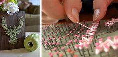 21 idei de a realiza proiecte string art ce pot deveni decoratiuni deosebite