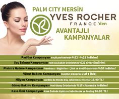 Palm City Mersin YVES ROCHER'den Avantajlı Kampanyalar! #yvesrocher #kampanya #palmcitymersinavm