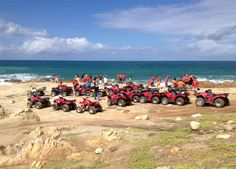 Cabo ATV tours are a popular activity in Los Cabos, Baja California Sur Mexico. Both desert tracks and seaside and dunes tours are available. Ask Alex Mex.com