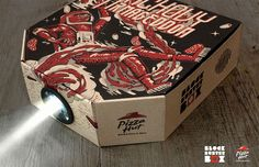 Pizza Hut: The Video Projector Pizza Box | Digital Buzz Blog