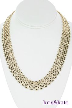 The gold link statement necklace! https://www.krisandkate.com/dealoftheday.html