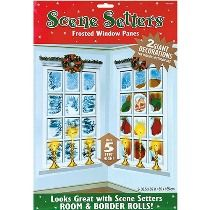 Frosted Window Panes Scene Setter Add-Ons 2ct  'Tis the season to decorate and make your house or any other party venue Christmas-ready with these fantastic Frosted Window Panes Scene Setters. This looks great with scene setters room and border rolls! It comes with 2 giant decorations that stand over 5 feet high. It's ideal for both indoor/outdoor use. Make this an essential part of your Yuletide party décor.