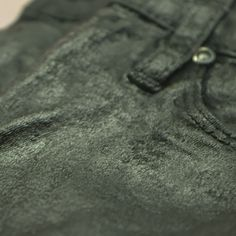 DIY: Create the Illusion of Leather Pants With Coated Denim!