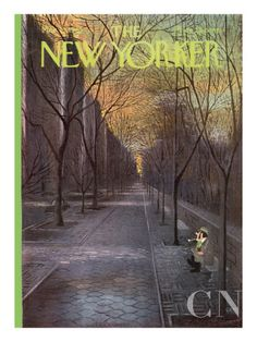 The New Yorker Cover - March 13, 1965 Poster Print by Charles E. Martin at the Condé Nast Collection