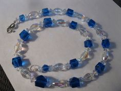 Gorgeous old crystal beads sterling clasp by las81101 on Etsy, $50.00