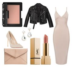 """""""Date night"""" by jessicaanne-xx on Polyvore featuring Nasty Gal, Dune, Rebecca Minkoff and NARS Cosmetics"""