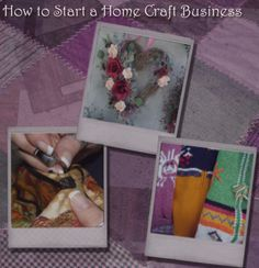 Hand craft work from home - sell arts and crafts to make money