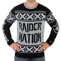 Oakland Raiders Ugly Christmas Sweaters