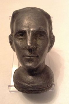 Vintage Henry Ford Model T Radiator Cap Hood Ornament of Henry Ford's Head