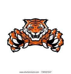 Find Orange Tiger Sport Gaming Logo Vector stock images in HD and millions of other royalty-free stock photos, illustrations and vectors in the Shutterstock collection. Thousands of new, high-quality pictures added every day. Logo Esport, Gaming Logo, Tiger Vector, Watercolor Splatter, Tiger Logo, E Sport, Tiger Art, Art Studios, Adobe Illustrator