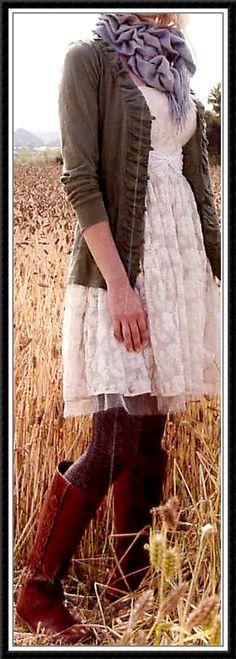 Have the dress.....fun idea!