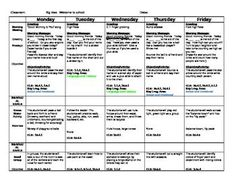 Creative curriculum for preschool lesson plan templates for Teaching strategies gold lesson plan template