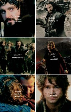 But the choice was ripped away. #thehobbit