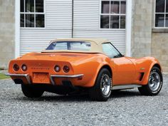 1973 Corvette Stingray Convertible Re-Pin Brought to you by #houseofinsuranceEugene