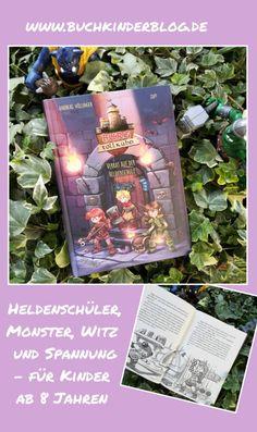 """Burg Tollkühn. Verrat auf der Heldenschule"" - Andreas Völlinger, Zapf - Buchkinderblog Andreas, Held, Books, Mysterious Events, Betrayal, Parents, School, Kids, Libros"