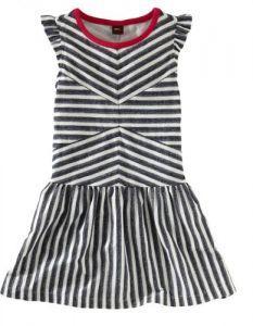 Tea Zebra Stripe Flutter Dress try and recreate for mags