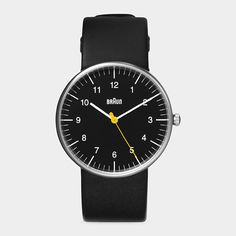 Braun watch. Perfect in its simplicity. Wish it were a mechanical.