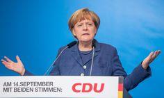 """Merkel in Apolda (Thüringen): Die SPD solle ihre """"stolze Geschichte"""" nicht verraten"""