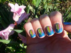 Nice Nails: Spring Waterfall