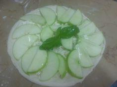 pizza con mele