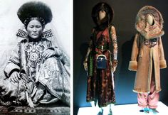 Mongolian costume and Jean Paul Gaultier 1994 Dresses