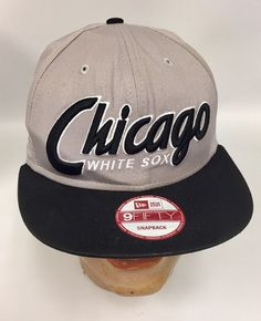 fb0c0e214 Chicago White Sox Baseball Hat New Era 9 Fifty Snap Back Cap