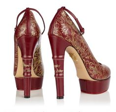 Book Spine heels (and other literary shoes)