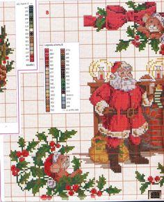Santa by Chimney Stocking 3/3