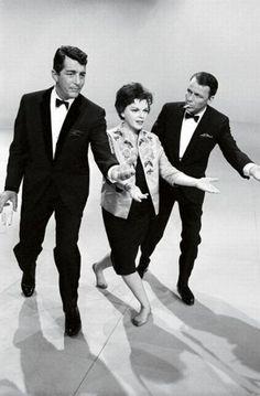 Dean Martin,Judy Garland and Frank Sinatra