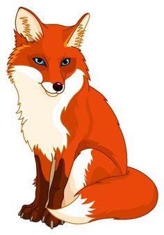 "Photo from album ""Лиса"" on Yandex. Art Drawings For Kids, Art Drawings Sketches, Animal Drawings, Fox Crafts, Mobile Art, Fox Art, Wildlife Art, Woodland Animals, Cute Cartoon"
