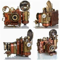 Steampunk Camera by Valery Alexandrovitch